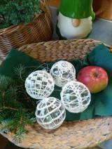Dekorácie - vianočná ozdoba - sada - 11096098_
