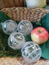 Dekorácie - vianočná ozdoba - sada - 11096103_