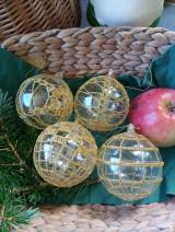 Dekorácie - vianočná ozdoba - sada - 11096156_