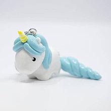 Kľúčenky - Jednorožec (Unicorn) - kľúčenka / talizman - 11095075_