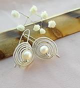 Náušnice - perla - 11094857_