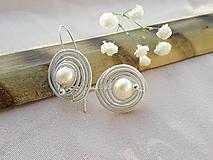 Náušnice - perla - 11094858_