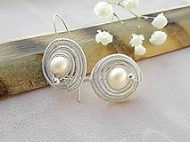 Náušnice - perla - 11094867_