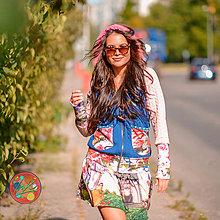 Mikiny - Origo mikino šaty šturovci - 11095648_