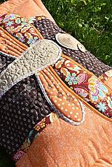 Úžitkový textil - Vážka - vankúš ... - 11097857_
