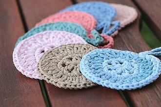Úžitkový textil - Kozmetické bavlnené tampóny - 11099347_