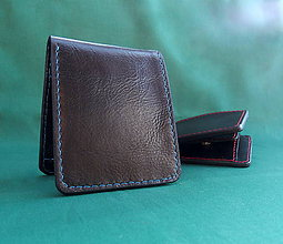 Iné - Kožená pánská peněženka - 11099100_
