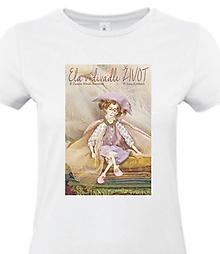 Tričká - Ela bábka - tričko s potlačou - 11101400_