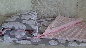 Textil - Minky deka 100 x 70 cm - 11100149_