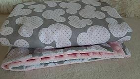 Textil - Minky deka 100 x 70 cm - 11100150_