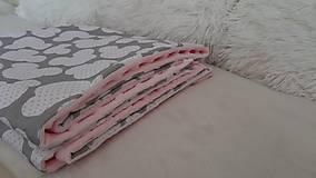Textil - Minky deka 100 x 70 cm - 11100153_
