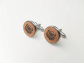 Šperky - Manžetové gombíky - Folklór - 11100000_
