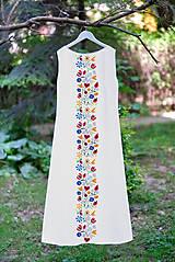 Šaty - FOLK spoločenské/svadobné šaty - 11099047_