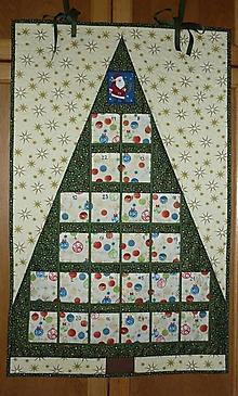 Dekorácie - Adventný kalendár STROMČEK  (stromček 5) - 11100789_