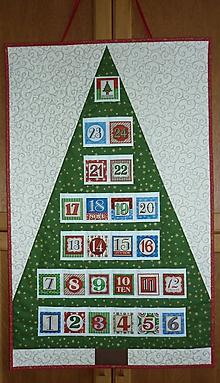 Dekorácie - Adventný kalendár STROMČEK  (stromček 4) - 11100806_