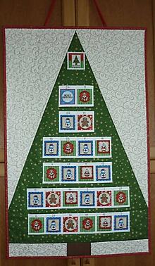 Dekorácie - Adventný kalendár STROMČEK  (stromček 3) - 11100849_