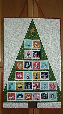 Dekorácie - Adventný kalendár STROMČEK - 11100902_