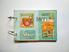 Papiernictvo - Fotoalbum cestovateľský * rodinný album a5 - 11099975_