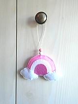 Dekorácia do detskej izby (dúha)