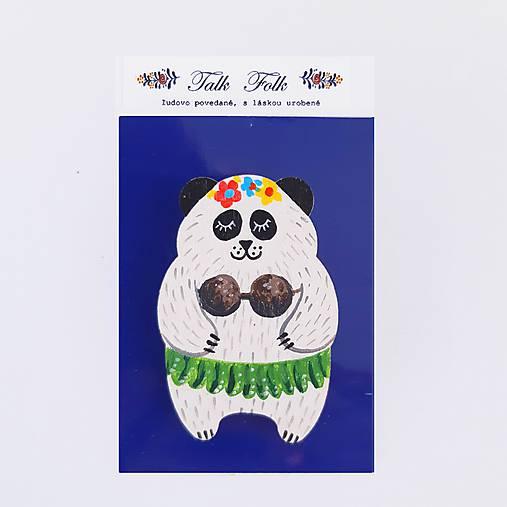 Brošnička - Panda (Hawaii III)