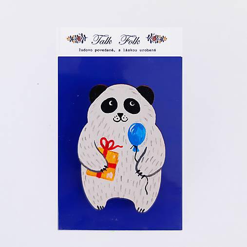 Brošnička - Panda (S darčekom)