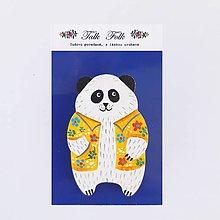 Odznaky/Brošne - Brošnička - Panda (Hawaii I) - 11098257_