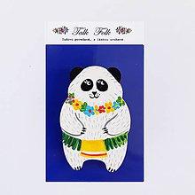 Odznaky/Brošne - Brošnička - Panda (Hawaii IV) - 11098260_