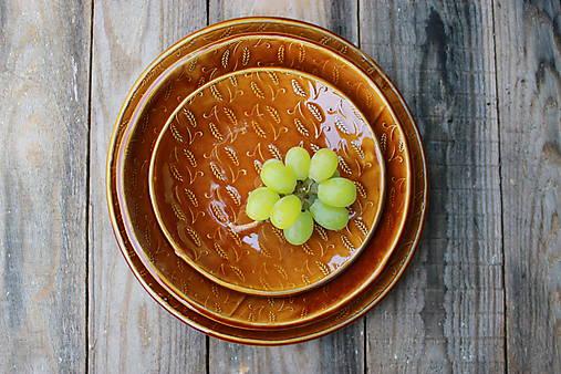 Set 3 tanierov - plytký, hlboký a dezertný - kolekcia Klasy