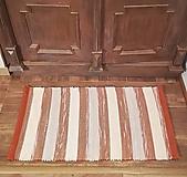 Úžitkový textil - Vo farbe tehly - 11101048_