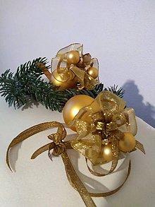 Dekorácie - Vianočná guľa so sukienkou - 11099788_