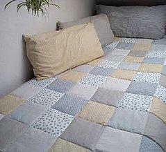 Úžitkový textil - Prehoz V prírodných farbách - 11100923_