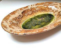 Nádoby - Oválna keramická misa - 11100154_