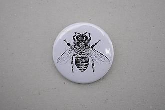 Odznaky/Brošne - Slovenské zvieratká (Včela medonosná) - 11100155_