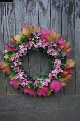 Dekorácie - Jesenný venček - 11100712_