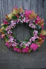 Dekorácie - Jesenný venček - 11100714_