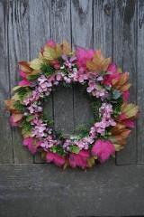 Dekorácie - Jesenný venček - 11100722_