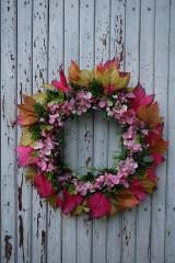 Dekorácie - Jesenný venček - 11100730_