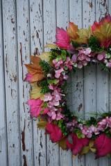 Dekorácie - Jesenný venček - 11100732_