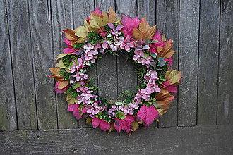 Dekorácie - Jesenný venček - 11100728_