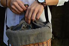 Kabelky - Prútená kabelka na rameno N°4 - 11100349_