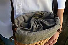 Kabelky - Prútená kabelka na rameno N°4 - 11100351_