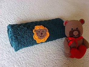 Textil - Háčkovaná deka levík - 11099300_