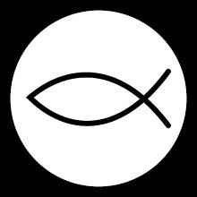 Magnetky - Kresťanská rybička - 11100966_
