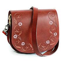 Kabelky - Kožená kabelka ANDREA - 11098454_