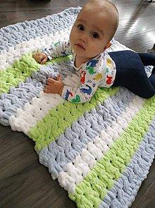 Textil - Handmade puffy deka 👶 - 11099749_