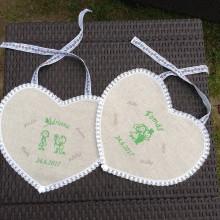 Darčeky pre svadobčanov - Svadobné podbradníky - 11099571_