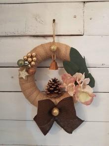Dekorácie - Vianočný veniec - 11099667_