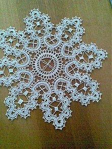 Úžitkový textil - paličkovaná čipka - dečka - 11100986_