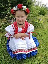 Detské súpravy - Dievčenská folkorna súprava - 11099341_