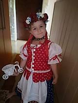 Detské súpravy - Dievčenská folkorna súprava - 11099342_